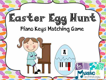 Easter Egg Hunt- Piano Keys Review Game