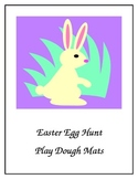 Easter Egg Hunt Play Dough Mats