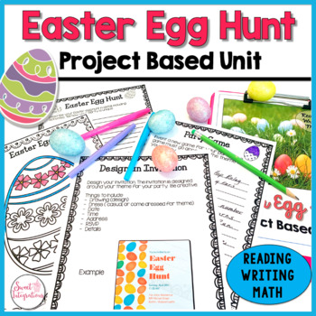 PROJECT BASED LEARNING MATH ACTIVITY: EASTER EGG HUNT WITH TECHNOLOGY