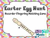 Easter Egg Hunt- Recorder Fingering Review Game