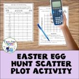 Easter Egg Hunt Scatter Plot Activity