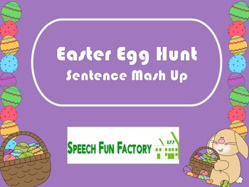 Easter Egg Hunt - Sentence Mash Up