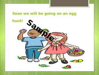 Easter Egg Hunt Social Story