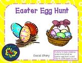Easter Egg Hunt Social Story Packet