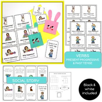 Easter Egg Hunt Speech & Language Activities