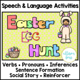 Easter Speech Therapy | Easter Egg Hunt Activities