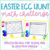 The Great Easter Egg Hunt: Telling Time & Counting Money
