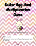 Easter Egg Hunt Two-Digit Multiplication Game