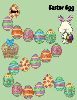 Easter Egg Hunt Two-Digit Multiplication Game