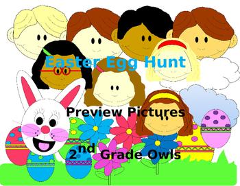 Easter Egg Hunt clipart