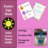 Easter Egg Hunt with Gross Motor skills