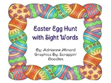 Easter Egg Hunt with Sight Words