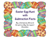 Easter Egg Hunt with Subtraction Facts