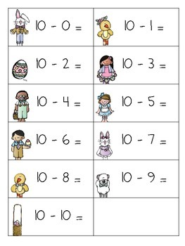 Easter Egg Hunt...Just Add Eggs! (math edition)