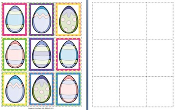 Easter Egg Inferencing Activity - Guess the Mystery Item -- Speech, Preschool