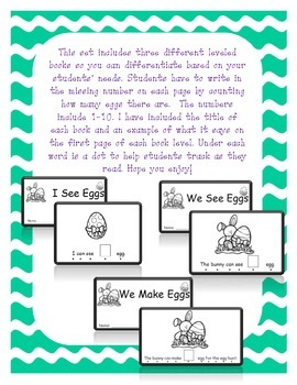Easter Egg Interactive Student Book - 3 different levels!