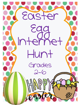 Easter Egg Internet Scavenger Hunt