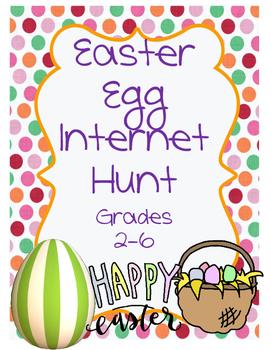 Easter Egg Internet Scavenger Hunt
