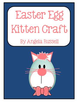 Easter Egg Kitten Craft