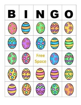 Easter Egg Listening for Details and Describing Packet