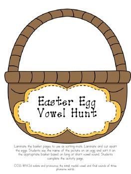 Easter Egg Literacy Bundle