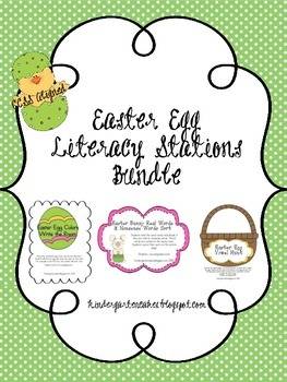 Easter Egg Literacy Bundle