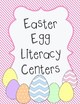 Easter Egg Literacy Activities