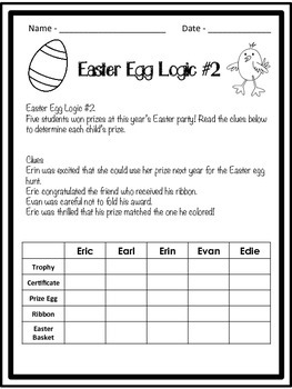 Easter Egg Logic
