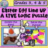 Easter Egg , Logic Puzzle, Live Logic, Easter Hats, Gate, TAG, Act It Out!