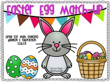 Easter Egg Match-Up