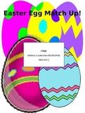Easter Egg Match Up - 3-Digit Addition & Subtraction
