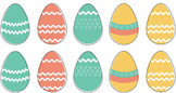 Easter Egg Match the Same Activity