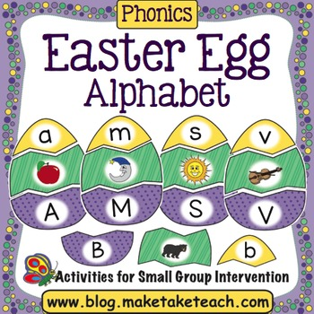 Alphabet - Easter Egg Matching