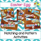 Easter Egg Matching and Pattern Activities