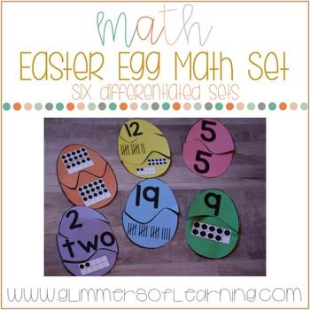 Easter Egg Math Bundle