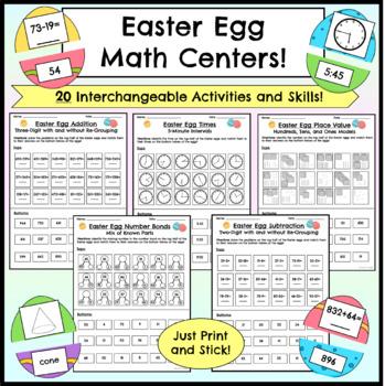 Easter Egg Math Centers