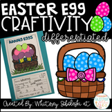 Easter Egg Math Craft-Differentiated