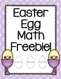Easter Egg Math Freebie!
