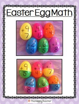 Easter Egg Math Freebie!