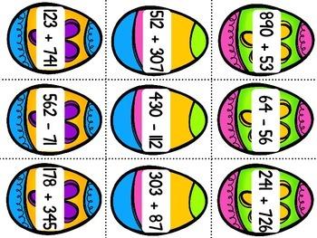 Easter Egg Math Hunt