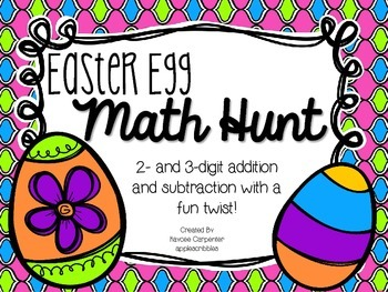 Easter Egg Math Hunt
