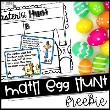 Math Egg Hunt