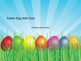 Easter Math Powerpoint Quiz