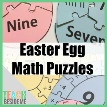 Easter Egg Math Puzzles