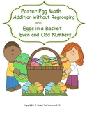 Spring Fun: Easter Egg Math and Eggs in a Basket Addition without Regrouping
