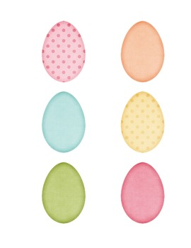 Easter Egg Memory Match Game