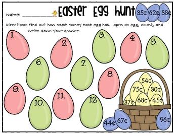 Easter Egg Money Hunt