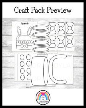 Easter Craft: Name Egg Basket