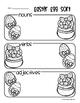 Easter Egg Nouns / Verbs / Adjectives Sort
