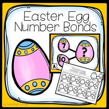 Easter Egg Number Bond- Write the Room